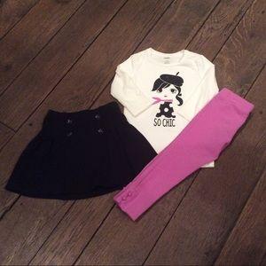Gymboree 3 piece outfit